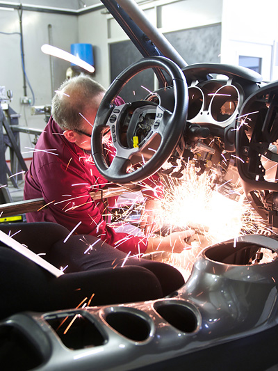 Nissan Juke-R GT-R Interieur
