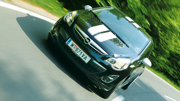 Opel Corsa dyn vorne