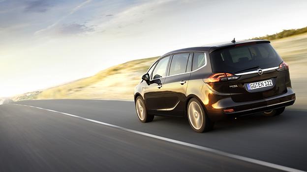 Opel Zafira Tourer Exterieur Dynamisch Heck