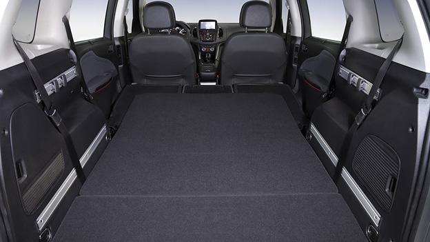 Opel zafira tourer5 for Interieur zafira