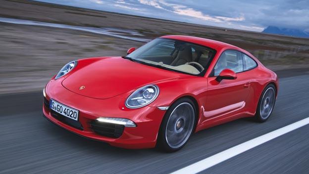 Porsche 911 Technik Exterieur dynamisch Front
