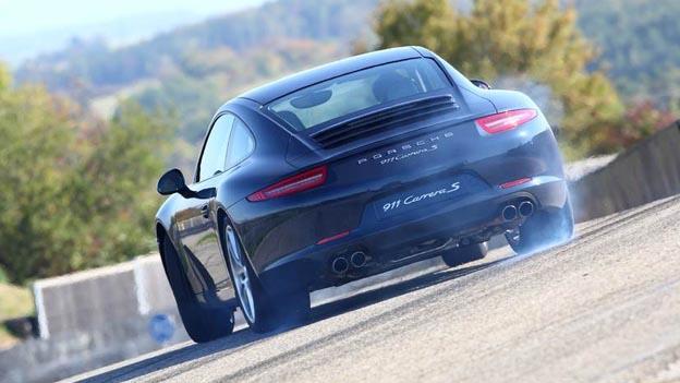 Porsche 911 Exterieur dynamisch heck
