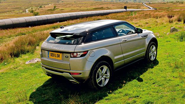 Land Rover Range Rover Evoque Statisch Exterieur Heck Seite
