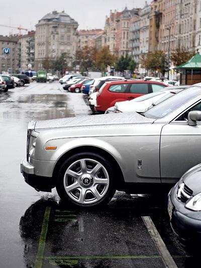 Thomas Glavinic Rolls Royce Phantom Exterieur