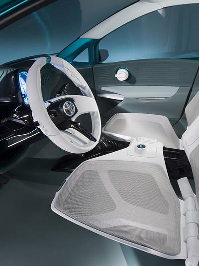 Toyota Aqua Prius Concept C Interieur