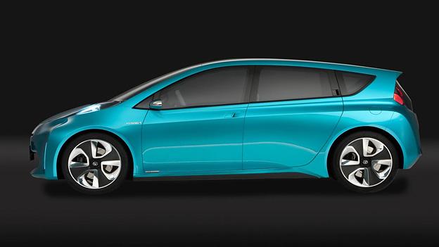 Toyota Aqua Prius Concept C Exterieur Statisch Seite