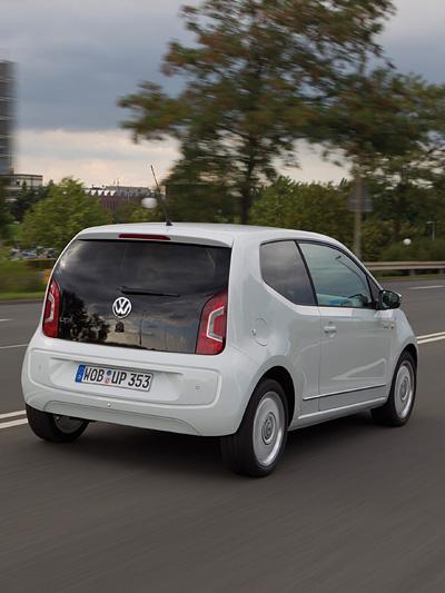 VW up! Exterieur dynamisch Heck Volkswagen