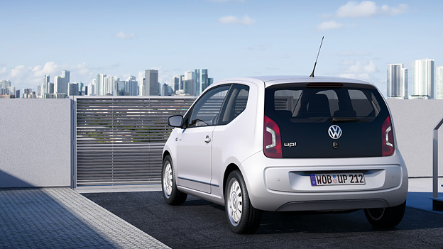 VW up! Exterieur Statisch Heck Volkswagen