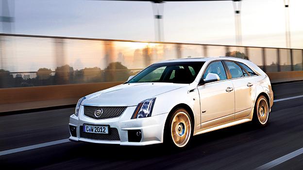 Cadillac CTS-V dyn voli