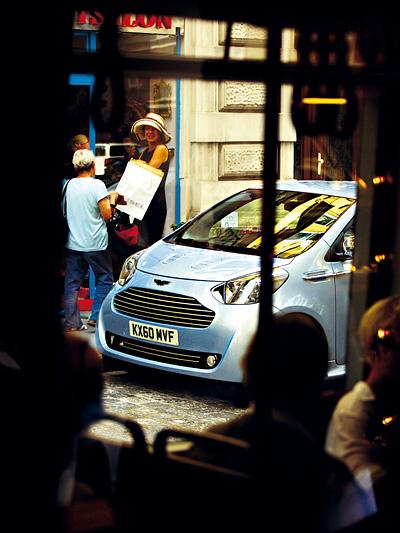 Aston Martin Cygnet Exterieur Statisch Front