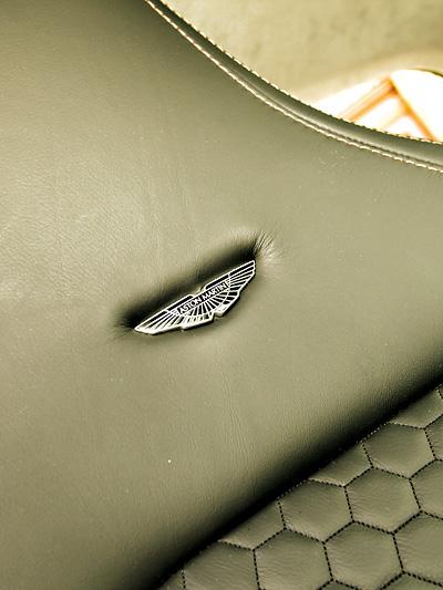 Aston Martin Cygnet Interieur