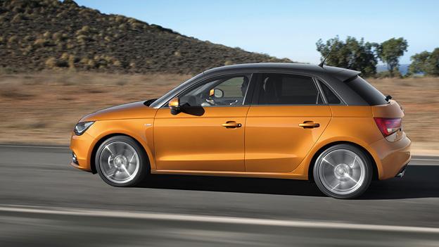 Audi A1 Sportback Exterieur Dynamisch Seite