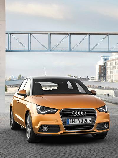 Audi A1 Sportback Exterieur Statisch Front