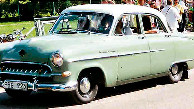 1954 Zeitreise Zeitmaschine borgward isabella Opel Lars Göran Lindgren