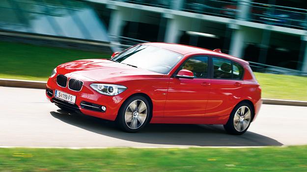 BMW 1er 120d Sport Exterieur Dynamisch Front Seite