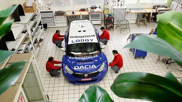 Dacia Lodgy stat vorne