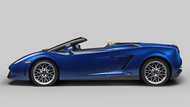 Lamborghini Gallardo LP 550-2 Spyder Exterieur Statisch Seite