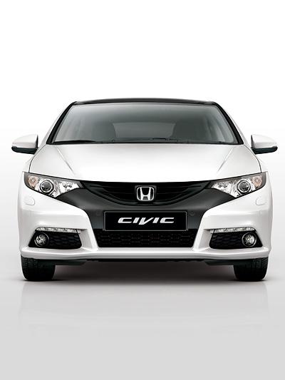 Honda Civic Exterieur Statisch Front