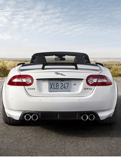 Jaguar XKR-S Cabrio Exterieur Dstatisch heck