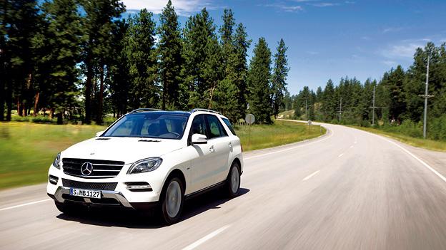 Mercedes-Benz M-Klasse ML Exterieur Dynamisch Front