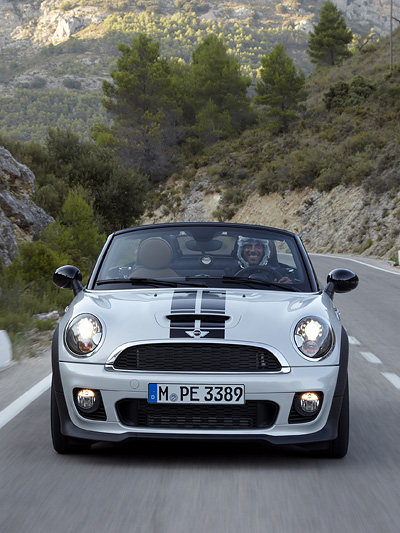 Mini Roadster Exterieur Dynamisch Front