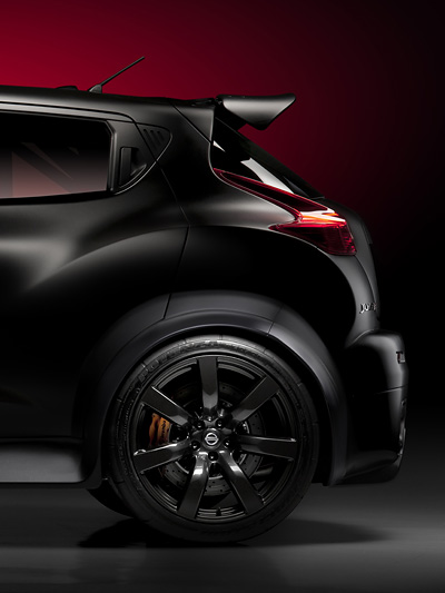 Nissan Juke R Exterieur Statisch Seite Heck
