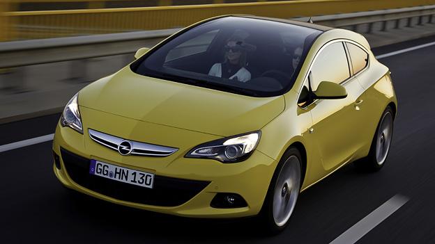Opel Astra GTC Exterieur Dynamisch Front