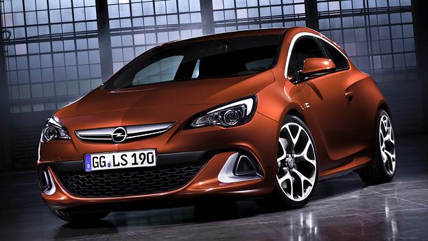 Opel Astra OPC Exterieur Statisch Front