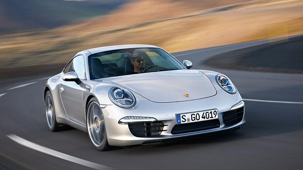 Porsche 911 Exterieur Dynamisch Front