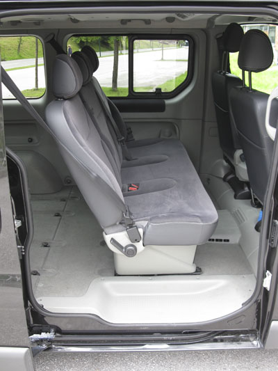 Renault Trafic Interieur