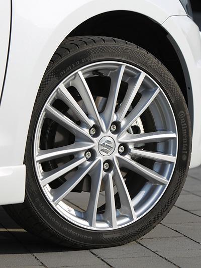 Suzuki Swift Sport Exterieur Statisch Detail Felge