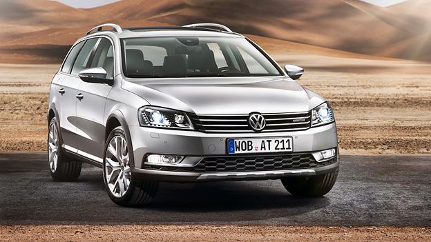 VW Passat Alltrack statisch Exterieur Front