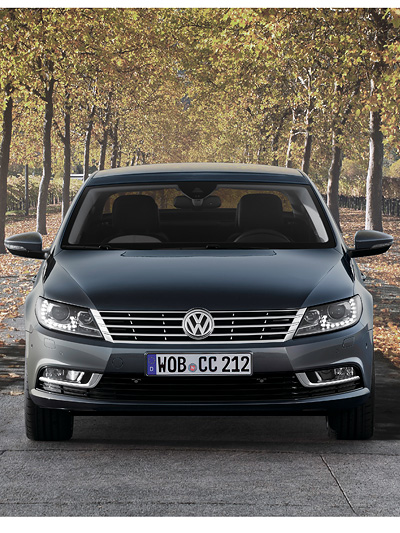 VW Passat CC Exterieur Statisch Front