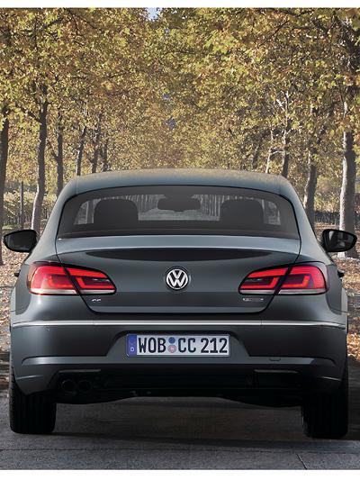 VW Passat CC Exterieur Statisch Heck