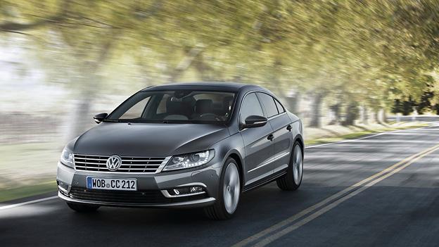 VW Passat CC Exterieur Dynamisch Front