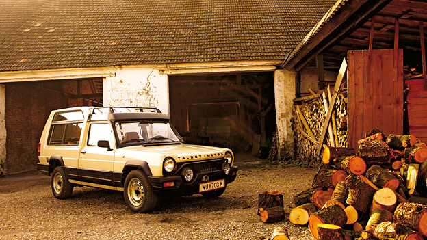 1978 Zeitmaschine Talbot Simca MAtra Rancho