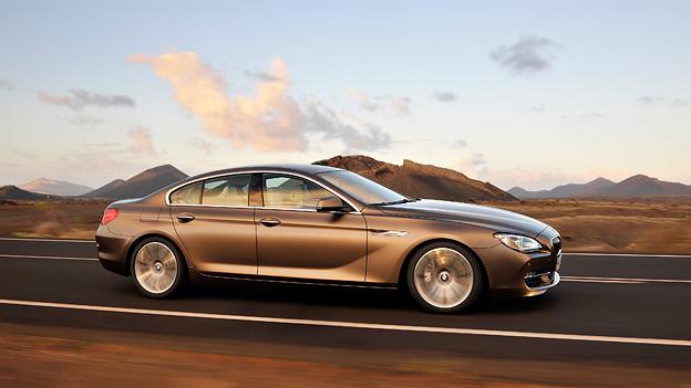 BMW 6er Gran Coupe Exterieur Dynamisch Seite