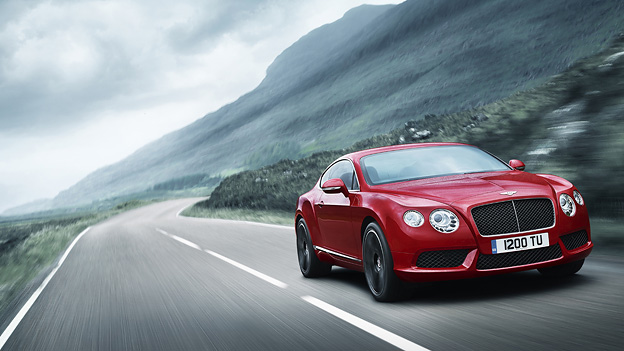 Bentley Continental V8 Exterieur Dynamisch Front