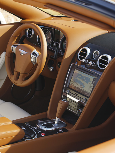 Bentley Continental GTC Interieur