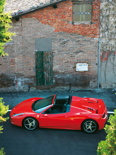 Ferrari 458 Italia Spider Exterieur Statisch