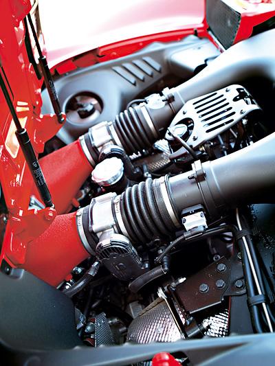 Ferrari 458 Italia Spider Exterieur Motor