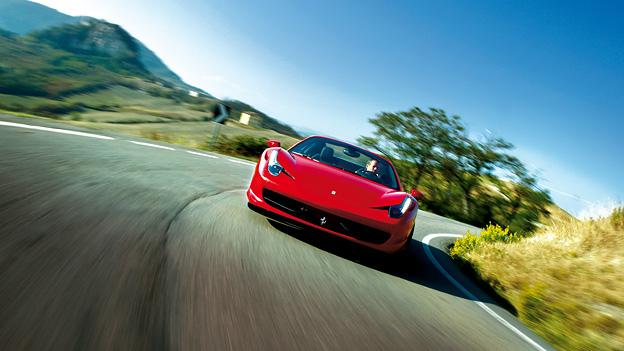 Ferrari 458 Italia Spider Exterieur Dynamisch