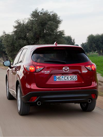 Mazda CX-5 Exterieur dynamisch Heck
