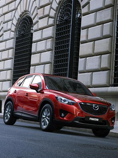 Mazda CX-5 Exterieur Statisch Front Seite