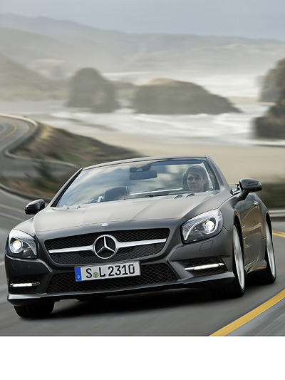 Mercedes-Benz SL Exterieur Dynamisch Front