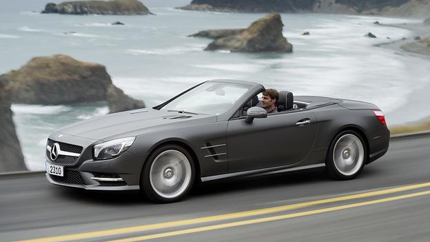 Mercedes-Benz SL Exterieur Dynamisch Seite