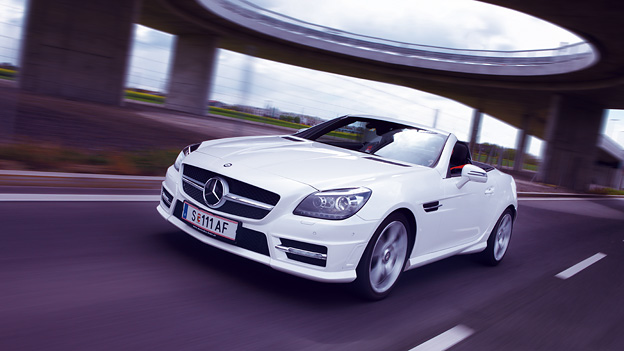 Mercedes SLK Wanderbrief Dezember 2011