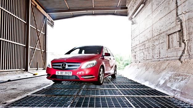 Mercedes B-Klasse stat voli