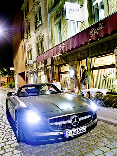 Mercedes BEnz AMG SLS Roadster Exterieur statisch front