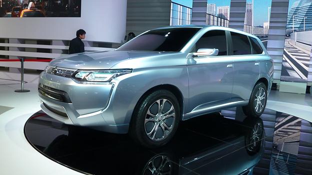Mitsubishi iMiev PX Concept Tokyo